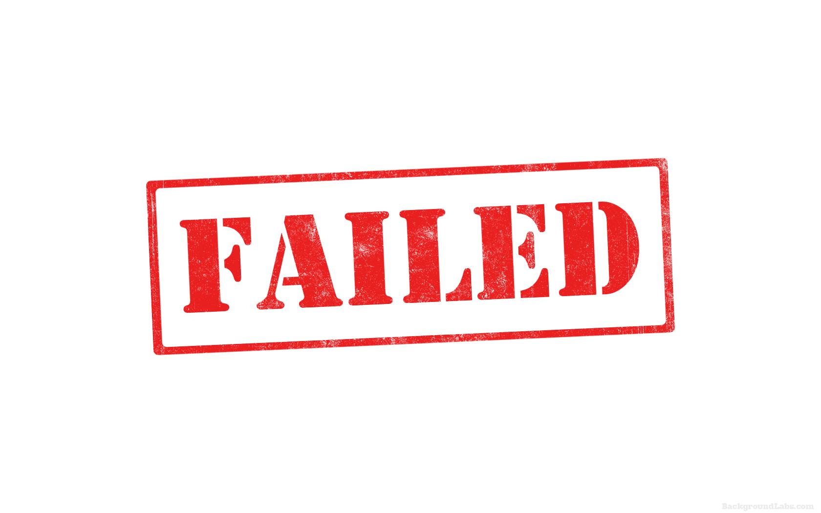 Failed Stamp Backgroun...