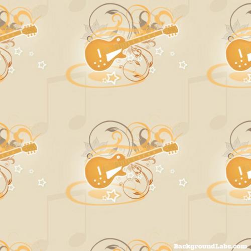Les Paul Guitar Pattern