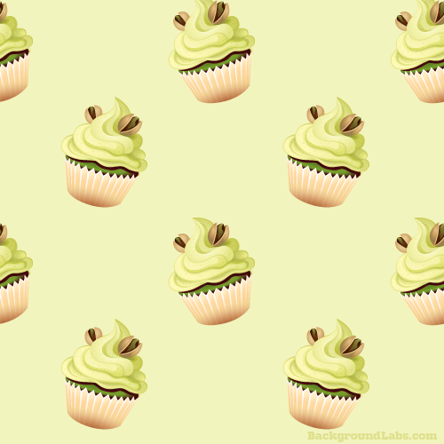 Pistachio Cupcake Pattern