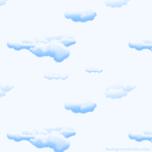 Puffy Clouds Pattern
