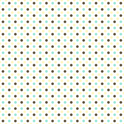 Seamless Retro Polka Dots