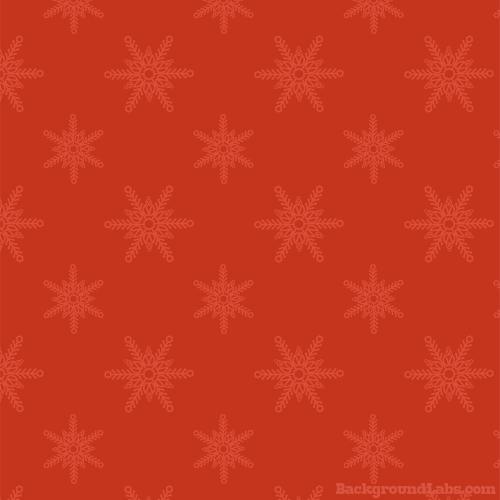 Subtle Snowflakes Pattern