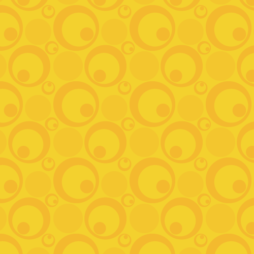 Retro Circles Background