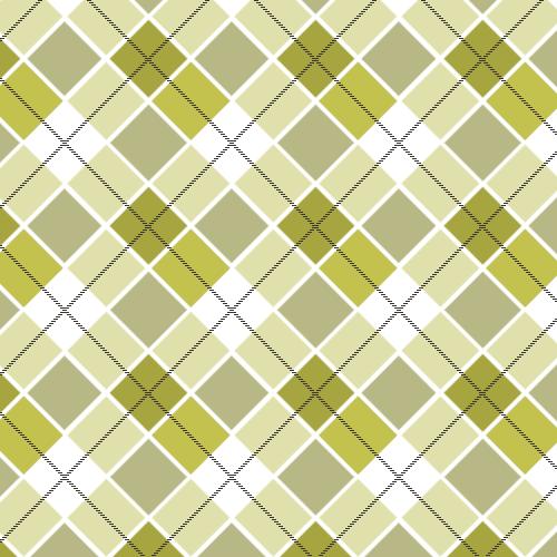 Green Tartan Pattern