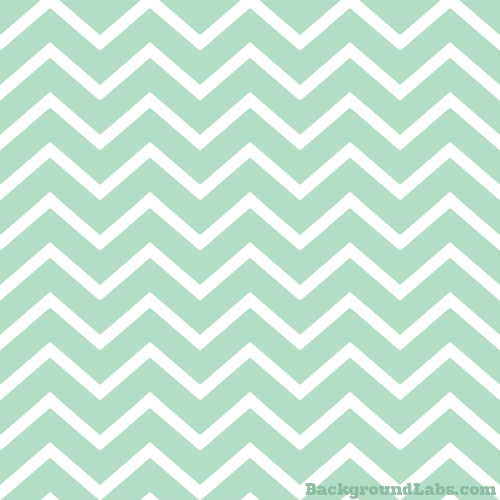 Mint Green Chevron Stripes