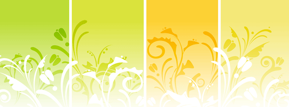 Colorful Floral Facebook Cover
