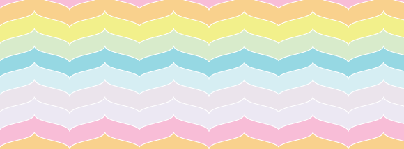 Curved Chevron Stripes Facebook Cover