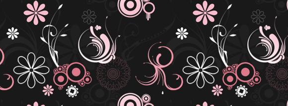 Fancy Floral Facebook Cover