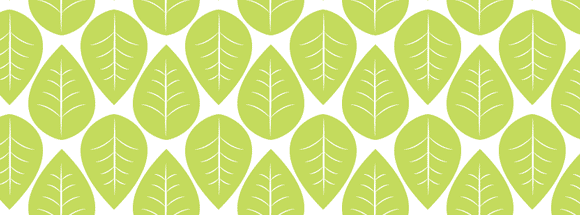 Green Leaves Facebook Cover