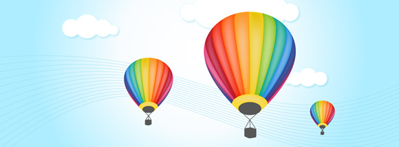 Hot Air Balloon Facebook Cover