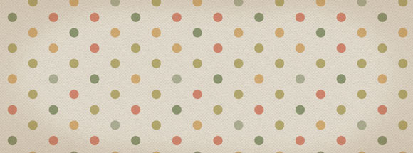Vintage Polka Dot Facebook Cover