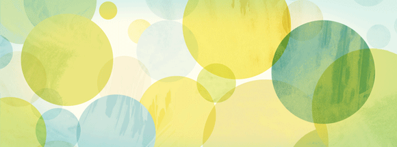 Watercolor Circles Facebook Cover