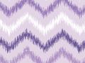 Purple Ikat Chevron
