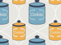 Cookie Jar Seamless Pattern